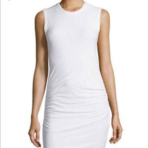 James Perse white dress